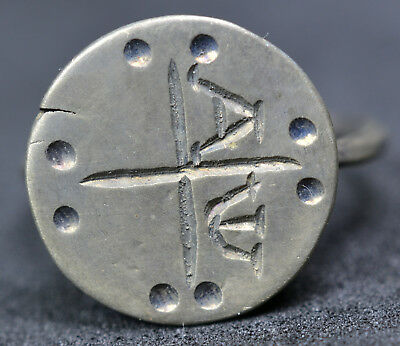 Byzantine Solid Silver Christian Ring