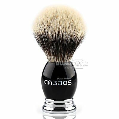 Anbbas Best Badger Hair Bear Shave Brush Made By Resin & Alloy Handle Men's Gift