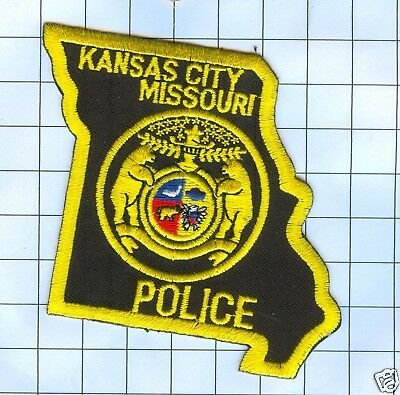 Police Patch  - Missouri - Kansas City