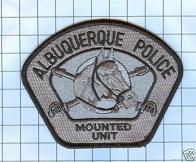 Police Patch  - New Mexico - Albuquerque Mounted Unit