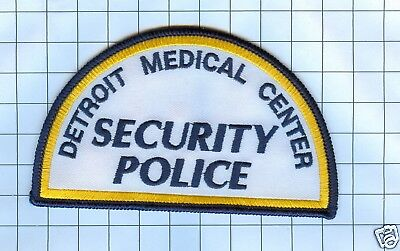 Police Patch - Michigan - Detroit Medical Center Security