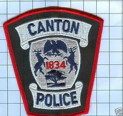 Police Patch - Michigan - Canton