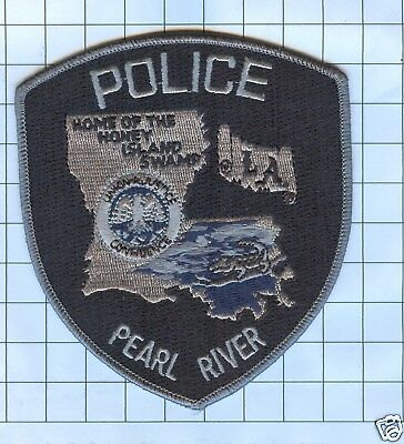 Police Patch  - Louisiana - Pearl River