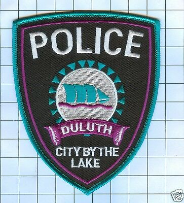 Police Patch - Minnesota - Duluth City by the Lake