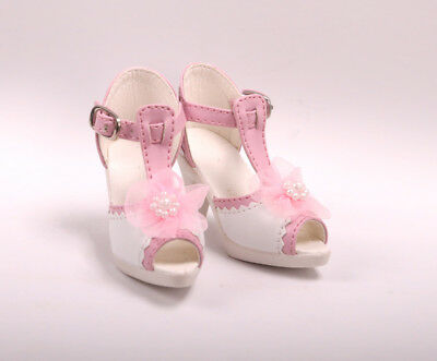1/3 BJD Boots/Shoes Supper dollfie SD Luts pink new  #S62