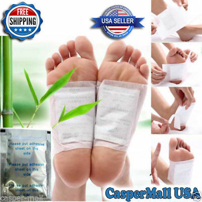 100 PCS Silver Cleansing Detox Foot Pads Patch anti toxin, dampness, Help sleep