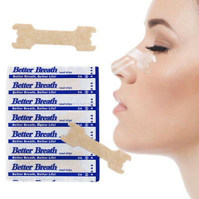 125 (100+25) NASAL STRIPS MEDIUM / SMALL Better Breath /Reduce Snoring Right Now