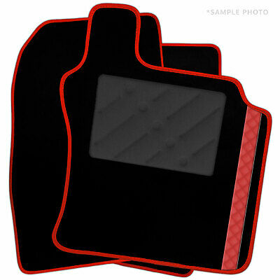 Ford Transit [fixings to both fronts] 2016+ Tailored Car Mats + Cube Stripe