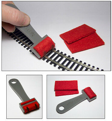 Track Cleaner for Z, N, HO and OO scale tracks - Proses TC-001