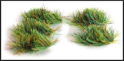 4mm Self-Adhesive Summer Grass Tufts (100) - All gauge - PECO PSG-50