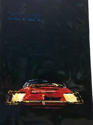 """Vintage 1979 Ferrari Poster """"Image"""". Printed in Italy. Limited Edition. Rare."""