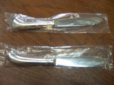 Cooper Bros. & Sons silver plate fish knives