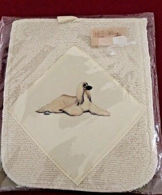 Afghan Hound Dog Kitchen Pot Holder * Zeppa Studios * NWT * Hot Paws
