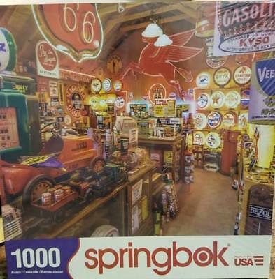 ROUTE 66 VINTAGE Gas & Oil Signs 1000 pc Jigsaw Puzzle Springbok 33-10744