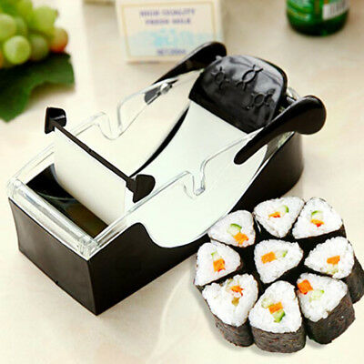 Kitchen Perfect Magic Roll Easy Sushi Maker Cutter Roller DIY Kitchen Perfect Ma
