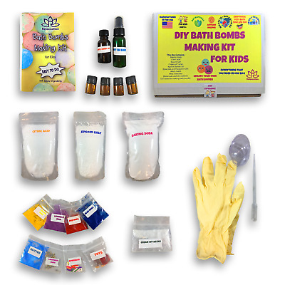 Bath Bomb Making Kit / DIY Bath Bombs - Kids Bath Bombs Making Kit for Creating