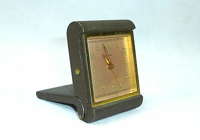 JUNGHANS TRAVEL ALARM CLOCK WATCH ALARM CLOCK Um 1900