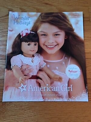 AMERICAN GIRL Holiday 2014 Catalog Follow Your Inner Star Combined Shipping