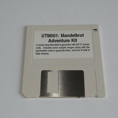 UTM001 Mandelbrot Adventure Kit Floppy Disk  - edc