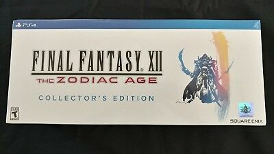 Brand New!! Final Fantasy XII: The Zodiac Age Collector's Edition PS4