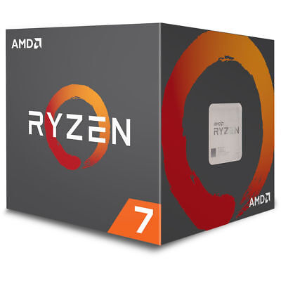 AMD Ryzen 7 2700 Processor 16MB Cache 3.2 GHz AM4 8 Core 16 Thread Desktop CPU