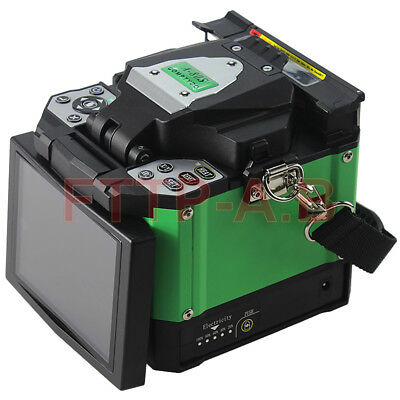 Green Automatic Intelligent Optical Fiber Fusion Splicer FTTH Fiber Welding BOX