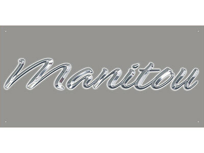 Advertising Display Banner for Manitou