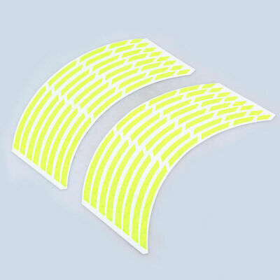 For Suzuki GSXR 750 Motorcycle 17 inch Wheel Tire Decal Rim Stripe Tape Sticker