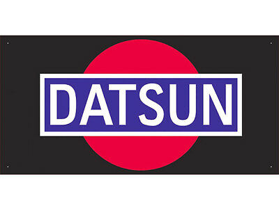 Advertising Display Banner for Datsun Sales Service Parts