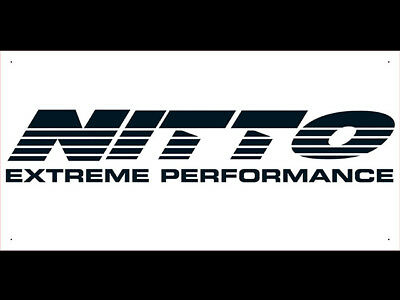 Advertising Display Banner for Nitto Tires Sales Service Parts