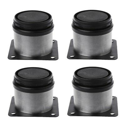 4pcs Adjule Support Furniture Legs Kitchen Cabinet Feet Stainless Steel New