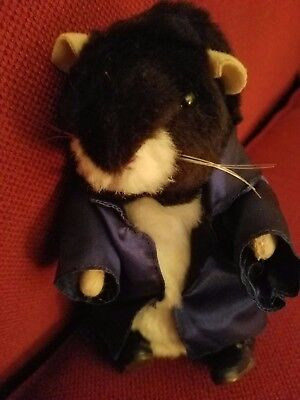 """Dancing hamster with """"blue suede"""" shoes by Gemmy"""