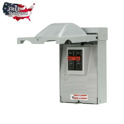 Outdoor Eaton Circuit Breakers Box 60 Amp 240V Power Cut Off Safety Switch
