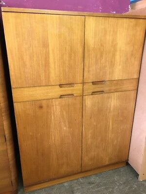Uniflex Double Wardrobe Mid Century