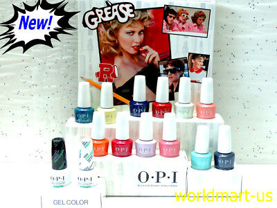 OPI GelColor Soak Off 15ml/0.5fl.oz GREASE Collection 2018 /Choose Any Color
