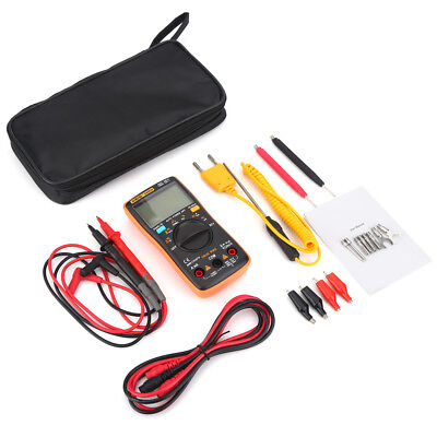 AN8009 Digital LCD Multimeter Auto Bereich True RMS AC/DC Spannung Strom Meter