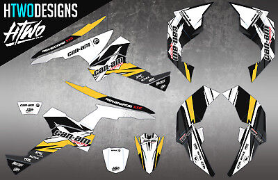 Can-Am Renegade 570/800/1000 Graphic Kit Stickers Can Am Graphics Canam Decal
