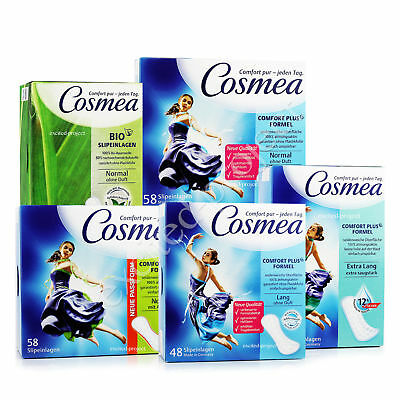 Cosmea German Pantiliners - Feminine Hygiene Different Sizes - Made in Germany
