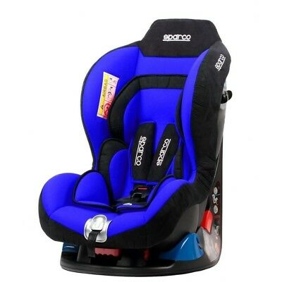Sparco Child Seat F5000k Baby Safety Seat 0-18 kg BLUE 0-4 years ECE Approved