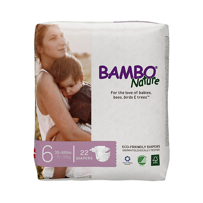 Bambo Nature Diapers (Size 6)