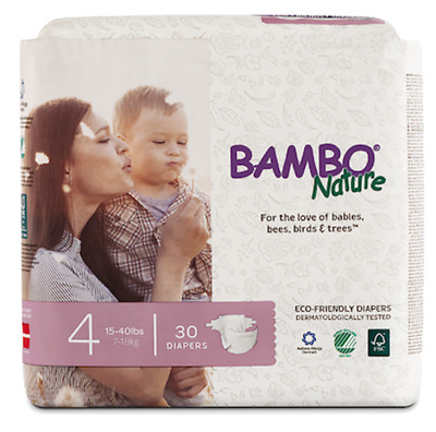 Bambo Nature Diapers (Size 4)