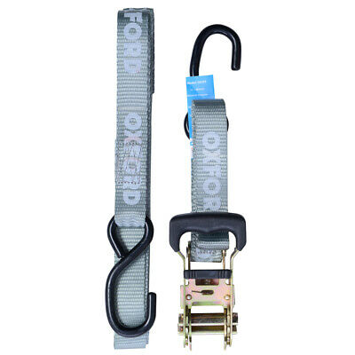Oxford Motorcycle Heavy Duty Ratchet Hook Straps 25mm Width OX744 BC39119 - T