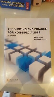 Accounting and Finance for Non-Specialists - 6th Edition - Peter Atrill