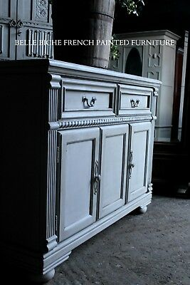 French Painted Sideboard Handsome Reproduction Provincial Style Sideboard