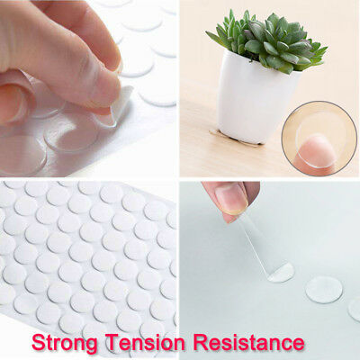 70pcs Acrylic Adhesive Mounting Round Shape Double-sided Clear Tape Pad Stickers