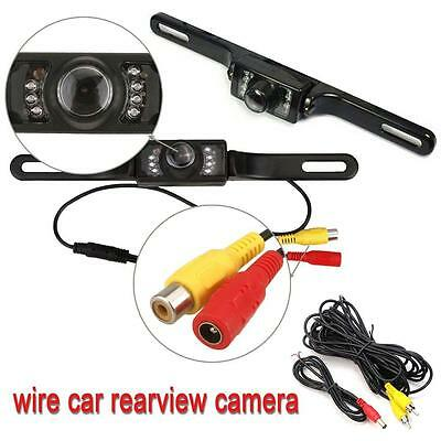 Car Rear View Camera Reversing Backup Parking License Plate Night Vision Cam GA
