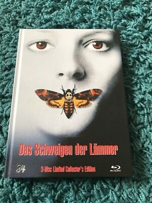 Silence Of The Lambs Blu Ray Mediabook '84 Entertainment Horror Thriller