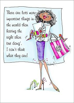 African American Funny Birthday Card For Woman Vanity Cases By Collene Kennedy