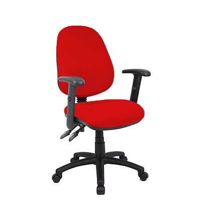 Vantage 100 chair - with adjustable arms - Red