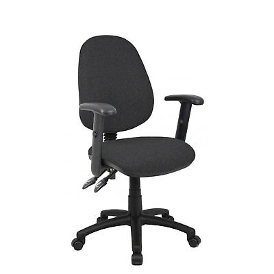 Vantage 100 chair - with adjustable arms - Charcoal
